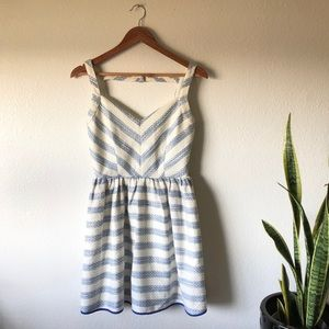 NWT Line and Dot striped dress